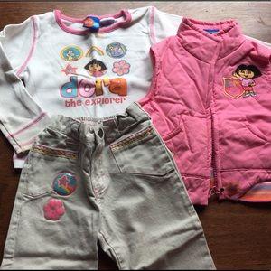 Dora the Explorer Toddler Complete Set